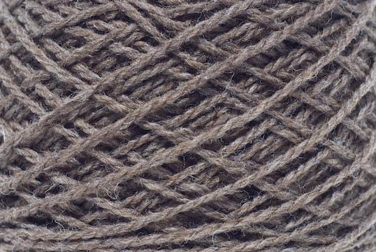 Peruvian highland wool in brown-sheep brown for your MENSCH custom cowl