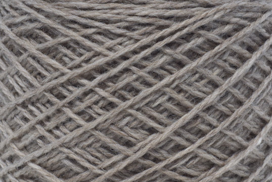 Peruvian highland wool in putty for your MENSCH custom cowl