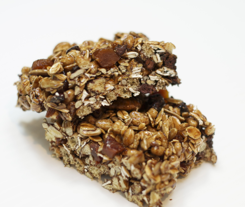 Gluten-free vegan power bars recipe by zed handmade