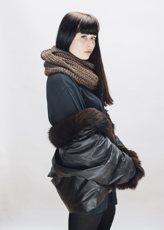 JULES in brown-sheep brown | zed handmade winter 2015 lookbook