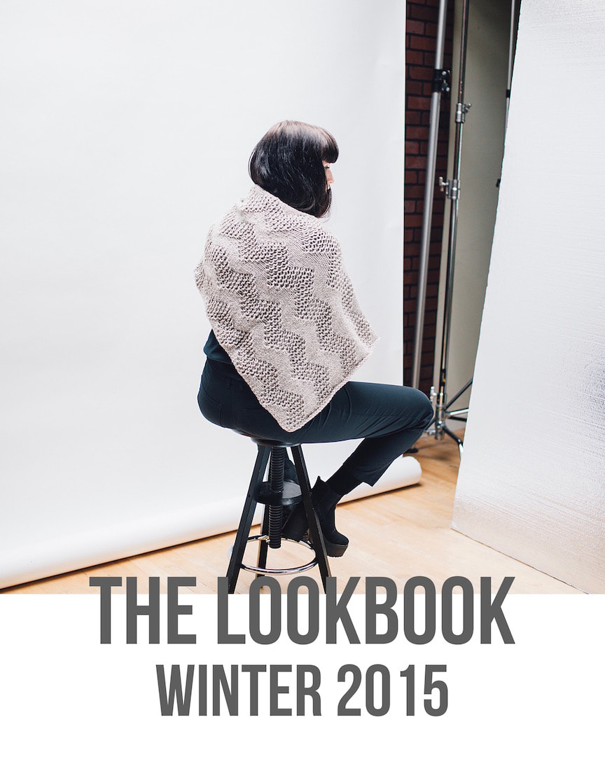 LUCE Warmer in putty  |  zedhandmade winter 2015 lookbook