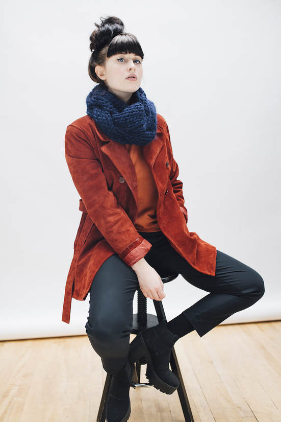 EMME in midnight  |  zedhandmade winter 2015 lookbook