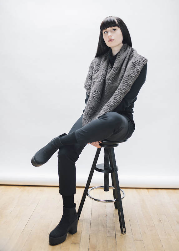 LUCE Warmer in gunmetal  | zedhandmade winter 2015 lookbook