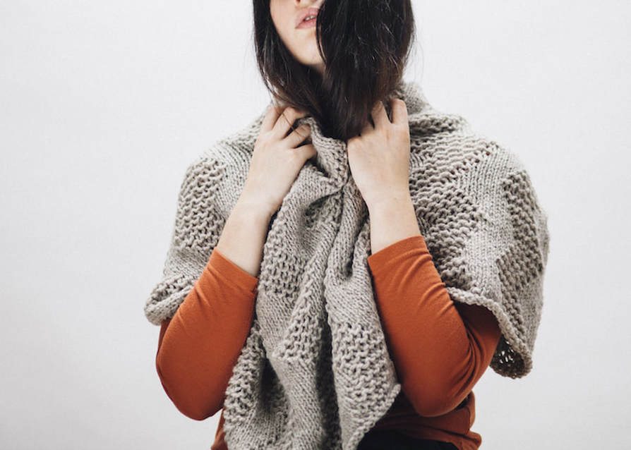 LUCE Warmer in putty | zed handmade winter 2015 lookbook